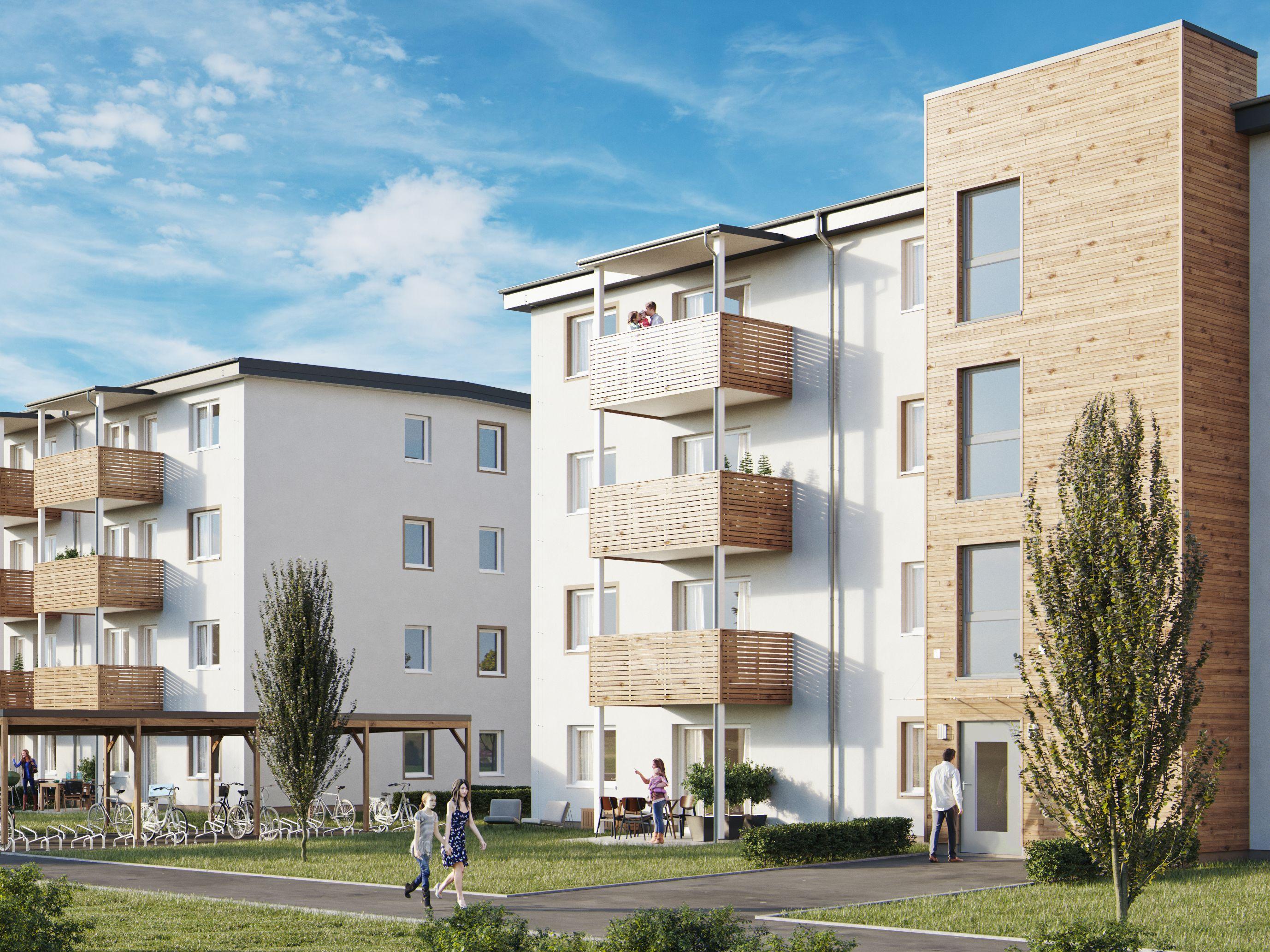 Leistbares Wohnen in Klagenfurt